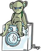 Cartoon,Washing Machine,Appliance,Bear,Illustration Technique,Beauty And Health,Illustrations And Vector Art,to wash,Arts And Entertainment,Visual Art,White,Vector,Drawing - Activity,Green Color,Drawing - Art Product