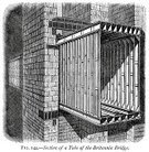 Architecture,Retro Revival,19th Century Style,Man Made Structure,Nostalgia,The Past,Black And White,Old,Antique,Obsolete,Architectural Styles,Built Structure,Industrial Revolution,Image Created 19th Century,Ilustration,Engraved Image,Woodcut,Wales,Sea,Old-fashioned,History,Styles,Caernarfon,UK,Water,Europe,Victorian Style,Britannia,Print,Bridge - Man Made Structure,Victorian Architecture,Gwynedd,Menai Suspension Bridge,Straits,Menai Straits,Northern Europe