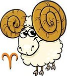 Ram - Animal,Aries,Astrology Sign,Animal,Horned,Fire - Natural Phenomenon,Symbol,Clip Art,Ideas,Sign,Fortune Telling,Characters,Astrology,Vector,Ilustration,Fun,Cartoon,Concepts