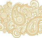 Paisley,Gold Colored,Hinduism,Backgrounds,White,Pattern,Floral Pattern,Cultures,Monochrome,Iranian Culture,Vegetable,Duotone,Persian Pickles,Kidney-shaped,Persian Culture,associated,Decoration,Shape,Spray,Symbol,Design Element,Welsh Pears,India,Old-fashioned,Outline,Twisted,Yellow,Textile,East Asian Culture
