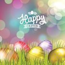 Easter,Backgrounds,happy easter,Easter Egg,Ilustration,Celebration,Gold Colored,Holiday,Typescript,Season,Design,Eggs,Decoration,Grass,Defocused,Vector,Red,Springtime,Meadow,Symbol,Eps10,Nature,Cultures,White,Purple,Green Color,Colors,Multi Colored