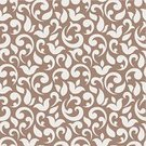 Ornate,Swirl,Floral Pattern,Ilustration,Abstract,Vector,Retro Revival,Seamless,Decoration,Backdrop,Curled Up,Repetition,Flower,Design,Wallpaper Pattern,Pattern,Old-fashioned,Backgrounds,Elegance,Brown,Computer Graphic