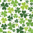 Clover Leaf Shape,St. Patrick's Day,Pattern,Clover,Wallpaper Pattern,Cultures,Republic of Ireland,Saint,White Background,Springtime,Seamless,Vector,Plant,Floral Pattern,patrick,Erin,March,Ilustration,Celebration,Textured,Sign,Holiday,Design Element,Leaf,Nature,Irish Culture,Silhouette,Decoration,Isolated,Symbol,Green Color,White,Grass,trefoil,Design,Repetition,Backgrounds,Shape,Luck,Celtic Culture