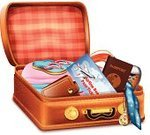 Packing,Vacations,Summer,Suitcase,Tourist,Content,Airport,Transportation,Railroad Track,Towel,Bag,Business,Hotel,Passport,Clothing,Commercial Airplane,Belongings,Luggage,Vector,Computer Graphic,Ticket,Group of Objects,Adventure