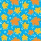 Maple Leaf,Pattern,Leaf,Rain,Seamless,Autumn,Falling,Water,Maple Tree,Puddle,Arts And Entertainment,Fall,Arts Backgrounds,Nature,rainwater,Yellow,Red,Orange Color,Raindrop