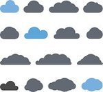 Cloud - Sky,Cloudscape,Abstract,Simplicity,Silhouette,Shape,Gray,Curve,Computer Icon,Blue,Internet,Set,Design Element,Weather,Sign,Technology,Ilustration,Symbol,Design,Clip Art,Isolated,Sky,Meteorology,Cartoon,Collection,Group of Objects,Vector,Overcast