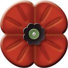 Poppy,Remembrance Day,Canada,Australia,Close-up,Lawn And Garden,Multi Colored,2011,Florist,Vector,No People,Ilustration,Cut Out,Growth