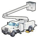 Truck,Fuel and Power Generation,Electricity,Service,Land Vehicle,Repairing,Working,Occupation,Telephone,Single Line,Equipment,City,Cable,White,Installing,Lighting Equipment,Built Structure,Technology,Transportation,Illustrations And Vector Art,Electric Vehicle,Illuminated,Igniting