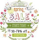 Springtime,Sale,Flower,Single Flower,Leaf,Floral Pattern,Vector,Modern,Drawing - Art Product,Invitation,Frame,Daisy,Ribbon,Abstract,Backgrounds,Sketch,Text,Doodle,Multi Colored,Branch,Nature,Ilustration,Banner,Design Element,No People,Design,Stem,hand drawn,Beauty In Nature,Colors,Copy Space,Placard