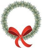 additional,christmas wreath,2011,Decoration,Cut Out,No People,Copy Space,Single Object,Vector