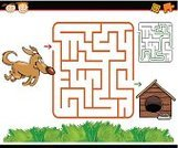 Maze,Vector,Cartoon,Outline,Simplicity,Characters,Animals Feeding,Searching,Surrounding Wall,Fun,Preparation,Ilustration,Computer Graphic,Puzzle,Cheerful,Maze Game,Direction,Application Software,Preliminary,Exit Sign,Humor,Design,Play,Home Schooling,Child,Dog,Entrance,Leaving,Learning,Happiness,Solution,Kennel,Preschool,template,Education,Shape,School Building,Leisure Games,Diagram,Drawing - Art Product,Elementary School