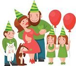 Large,Large,Love,Birthday,Father,Mother,Daughter,Twin,Family,Family with Three Children,Christmas,Dog,Domestic Cat,Beauty,Adult,Anniversary,Illustration,Men,Females,Women,Vector,White Background,Beautiful People,Husband,Wife