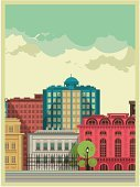 Infographic,Urban Scene,City,Built Structure,Environmental Conservation,Lifestyles,Building Exterior,Skyscraper,Backgrounds,Architecture,Nature,Apartment,Industry,Landscape,Energy,Factory,Town,Simplicity,Concepts,Multi Colored,Pattern,House,Travel,Retro Revival,Residential Structure,Ilustration,Traffic,Tree,Sky,Cityscape,small houses,Village,Street,Road