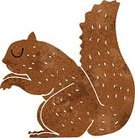 Squirrel,Clip Art,Cheerful,Cultures,Doodle,Ilustration
