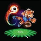 Soccer,Tiger,Fire - Natural Phenomenon,Sphere,Speed,Ball,FIFA,Championship,European Football Championship,First Place,Goal,Best In Show,Winnings,Indochinese Tiger,One Animal,Soccer Ball,Flame,Winning,Heat - Temperature,Kicking,Backgrounds,Bengal Tiger,Shooting at Goal,Penalty,Design Element,Vector,Energy,Fireball,Inferno,Ember,Team Sport,Goal Post,Sports Activity,Penalty Kick,Play,Ilustration,Bright,Animal,Cartoon,Playing,Sport,Passing,Soccer Player