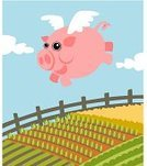 Pig,Farm,Flying,Field,When Pigs Fly,Cartoon,Crop,Rail Fence,Vector,Piglet,Aerial View,Animal,Fence,Cute,Livestock,Ilustration,Cheerful,Mid-Air,Happiness,Autumn,Non-Urban Scene,Rural Scene,Sayings,Meadow,Pink Color,Vector Cartoons,One Animal,Domestic Pig,Farm Animals,Concepts,Vertical,Summer,Animals And Pets,Illustrations And Vector Art