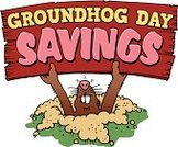 Groundhog,Sign,Holding,Groundhog Day,Outdoors,Candid,Hole,Cut Out,No People,Animal