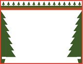 Group of Objects,Pine Tree,Tree,No People,Nature,Christmas Tree,Copy Space,Cut Out,Christmas