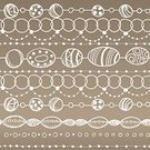 Baroque Style,Backgrounds,Beige,Brown,Circle,Art,Abstract,Seamless,Vector,Retro Revival,Lace - Textile,Craft Product,Classic,Crayon,Horizontal,hand drawn,Needlecraft Product,Romance,Nostalgia,Design Element,Elegance,Ornate,Decoration,Fragility,Design,Pattern,Bead