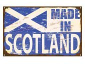 Highlands Region,Unity,Scottish Culture,kingdom,UK,British Culture,Scotland,Grunge,Manufacturing,Celtic Culture,Vector,Computer Graphic,Faded,Torn,Sign,Tin,Distressed,Dirty,Damaged,Banner,EPS 10,Making,Metallic,Metal,Rustic,Rusty,Flag,Insignia,Old,Enamel