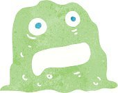 Cheerful,Doodle,Bizarre,Clip Art,Drawing - Activity,Rough,Animal,Halloween,Cute,Ilustration,Slimy