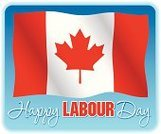 Labor Day,Canada,Canadian Flag,Red Maple,No People,Flag,On Blue