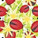 Ladybug,Seamless,Pattern,bg,Daisy,Summer,Flower,Repetition,Leaf,Floral Pattern,seamless wallpaper,Daisy Family,Springtime,Design,Fun,Spotted,Insect,Vibrant Color,Bright,seamless pattern,seamless tile,Repeating Background,seamless background,Red,Black Color,Green Color,Square,Symbol,Patterned Background,Nature,Repeating Tile,Ideas,repeating pattern,Imagination,Flowers,Wallpaper Pattern,Part Of,Concepts,Freshness,Happiness,Ornate
