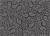 Paisley,Black Color,White,Pattern,Backgrounds,Wallpaper Pattern,Vector,Design,Decoration,Elegance,Ilustration,Ornate,Style,Part Of,Arts Abstract,Holidays And Celebrations,Arts And Entertainment,Illustrations And Vector Art