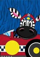 Cartoon,Horse,Modern,Fun,Zebra,Clip Art,Sports Car,Racing Helmet,Animal,Side View,Spoiler,Vector,Characters,Wheel,Vertical Stabilizer,Side-View Mirror,Sports Helmet,Car,Red,Computer Graphic,Motorsport,One Animal,Driving,Ilustration