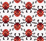 Zoology,Small,Close-up,Summer,Shiny,Biology,Entomologist,Circle,Nature,Beetle,Red,Pattern,Ladybug,Backgrounds,Vector,Insect,Spotted,Wildlife