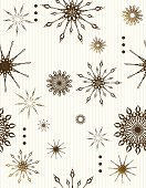 Variation,White Background,Winter,Season,Striped,Abundance,Backgrounds,Part Of,Snowflake,Group of Objects,No People