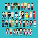People,Humor,Love,Sign,Communication,Social Issues,Sport,Human Body Part,Bride,Occupation,Party - Social Event,Heterosexual Couple,Wedding,Street,Childhood,Fun,Orthographic Symbol,Computer Icon,Child,Teenager,Adult,Young Adult,Astronaut,Art And Craft,Art,Punk - Person,Illustration,Pixelated,Cartoon,Community,Group Of People,Males,Men,Boys,Females,Women,Teenage Girls,Vector,Student,Funky,Characters,Heroes,Collection,Retro Styled,Couple - Relationship,Husband,Wife,Isolated,pixel art,Icon Set,The Human Body,Disco,Avatar