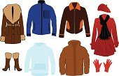 Coat,Closet,Heat - Temperature,Jacket,Clothing,Scarf,Pocket,Bert,Winter,Men,Elegance,Getting Dressed,Sports Glove,Boot,Vector Graphics,Shopping,Sheepskin Coat,Glove,Boots,Style,Dip,Belt,Retail,Ilustration,Quilted,For Women,Fashion,Thick,Shoe,Hat