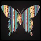 Vector,Butterfly - Insect,Elegance,Abstract,Design,Animal,Flying,Decoration,Beauty,Ornate,Bright,Design Element,Image,Symbol,Summer,Painted Image,Springtime,Wing,Ideas,Colors,Pattern,Style,Sky,Black Color,Beautiful,Creativity,Insect,Nature,Ilustration,Backgrounds,Silhouette,Art