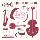 Jazz,Vector,Music,Musical Instrument,Silhouette,Double Bass,Drum,Swing Jazz,Banjo,Clarinet,Trumpet,Retro Revival,Musical Instrument String,Popular Music Concert,Harmonica,Poster,Doodle,Musical Band,Trombone,Saxophone,Drumstick,Set,Computer Graphic,Acoustic Instrument,Elegance,Old-fashioned,Design Element,Painted Image,Bird,Computer Icon,Musical Note,Backgrounds,Shape,Fun,Collection,Star Shape,Classical Music,Ilustration,Piano,Abstract,Blues,Cartoon,Playing,Design,Grief