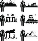 Lifestyles,Action,Egypt,Mountain,Adventure,Pyramid,Travel,City,People Traveling,Snow,Outdoors,Sign,Vacations,Old,Tomb,Men,Stone,Stick Figure,Backpacker,Leisure Activity,Recreational Pursuit,Old Ruin,Hiking,Town,Activity,Ancient,Backpack,Visit,Cartoon,Tourist,Landscape,Journey,Temple - Building,Stone Material,Arranging,Silhouette,People,Symbol,Vector,Antiquities,One Person,The Human Body,Black Color,Urban Scene,Explorer,Exploration,Concepts,Computer Icon