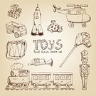 Toy,Sketch,Train,Armed Forces,Wind-up Toy,Child,Retro Revival,Car,Old-fashioned,Drawing - Activity,Childhood,Ilustration,Pencil Drawing,Drum,Drum,Gift,Horse,Doll,Romance,Doodle,Play,Small,Trumpet,Vector,Antique,Drawing - Art Product,Brown,Symbol,Sweet Food,Computer Icon,Air Vehicle,Cute,Design,Playing,Happiness,Truck,Pattern,Bear,Image,Softness,Set