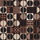 Coffee - Drink,Circle,Pattern,Cafe,Geometric Shape,Curve,1940-1980 Retro-Styled Imagery,Backgrounds,Wallpaper Pattern,Brown,Vector,Repetition,Backdrop,Seamless,Seam,Continuity,Textured Effect,Square Shape