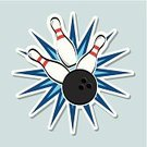 Bowling Pin,Ball,Sphere,Impact,Bowling Strike,Star - Space,Bowling,Ilustration,Play,Hobbies,Image,Computer Graphic,Concepts,Design,Recreational Pursuit,Equipment,Activity,Digitally Generated Image,Playing,Symbol,Practicing,Championship,Backgrounds,Vector,Match - Sport,Sport,Competition,Hitting