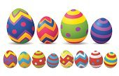 Easter Egg,White Background,Pattern,Collection,Clip Art,Easter