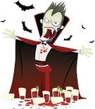 Vampire,Glass,Monster,Animated Cartoon,Halloween,Horror,Bat - Animal,Blood,Human Teeth,Count Dracula,Bow,Vector,Evil,Spooky,Fear,Cape,October,Illustrations And Vector Art,Terrified,Night,Pursuit - Concept,Red,Black Color,Mystery,Shock,Aggression,Animal Teeth