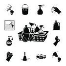 Cleaning,Symbol,Bottle,Computer Icon,Sign,Protective Glove,Glove,Dishwashing Liquid,Spraying,Human Hand,Spray,Flooring,Dirty,Mop,Sponge,White,Black Color,Washer,Hygiene,People,Duster,Internet,Image,Silhouette,Dusting,Cleanup,Set,Clean,Cleaner,Vector,Bucket,Laundry Detergent,Isolated,Rag,Ilustration,Window,Connection,Design,Bar Of Soap,Protection,Laundry,Washing,Collection,Dry,Broom,Liquid,Garbage,Single Object