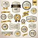 Badge,Gold Colored,Label,Luxury,Banner,Currency,Nobility,Computer Icon,Retro Revival,Upper Class,Old-fashioned,Free Of Charge,Design,Business,Price,Sale,Certificate,Retail,Shopping,Quality Control,certified,Exclusive,Advice,Special,Computer Graphic,Ribbon,Security,warranty,premium,Buying,Internet,Giving,Design Element,Single Object,Set,Order,Vector,Commercial Sign