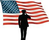 US Veteran's Day,American Flag,Vector,Flag,Low Angle View,Patriotism,Ilustration,People,Armed Forces,2011,One Person,Multi Colored,Cut Out,Full Length,Saluting,Military Attire,Adult