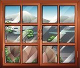 Window,Mountain,sides,At The Edge Of,Wood - Material,Angle,template,Nature,Cliff,Tree,Mounted,vindr,Image,Computer Graphic,Vector,Routine,Air,Air Duct,Holding,auga