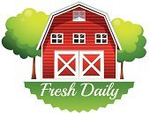 Farmhouse,Labeling,Creativity,Label,Advertisement,Billboard,Artist,Clip Art,Barn,Green Color,barnhouse,Wood - Material,Routine,Agriculture,Copy Space,template,Farm,Freshness,Farmer,House,Tree,Computer Graphic,Image,Placard,Sign,Backgrounds,White,Isolated,Menu
