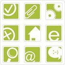 House,Sign,Symbol,Icon Set,Computer Icon,Finance,Simplicity,Green Color,Searching,Internet,Gear,'at' Symbol,Magnifying Glass,Web Page,Smiling,Option Key,Choice,Vector,Concepts And Ideas,Objects/Equipment,set of icons,web-design,Cancel,Pinion