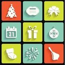 Set,Vector,Birthday,Celebration,Party - Social Event,Decoration,Computer Icon,Year,Hat,Backgrounds,Star - Space,Winter,Happiness,Fun,Symbol,Icon Set,Event,Painted Image,Internet,Christmas,Connection,Design,Collection,Firework Display,Nightclub,Gift,Shiny