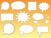 Bubble,Talk,Balloon,Speech Bubble,Speech,Talking,Comic Book,Discussion,Humor,Interface Icons,Animated Cartoon,Vector,Communication,Concepts And Ideas,TEXT BUBBLES,Ilustration