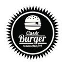 Burger,Sign,Hamburger,Symbol,Fast Food,Fast Food Restaurant,Silhouette,Meat,Ilustration,Grilled,Food,Menu,Food State,Style,Vector,White,Monochrome,Lunch,Restaurant,Black Color,Design,Bread,Gourmet,Speed
